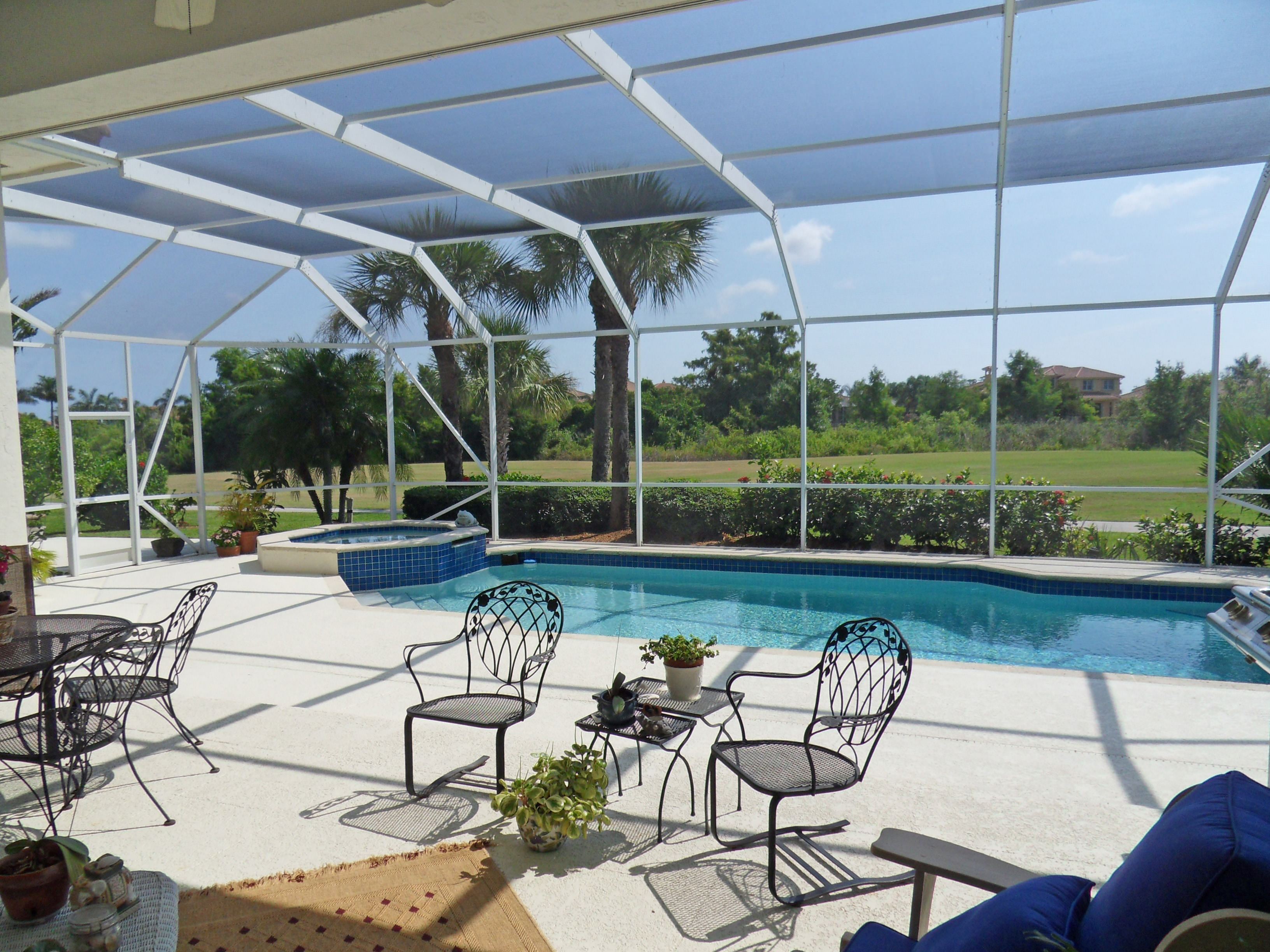 Custom Palm Cove Golf And Yacht Club Pool Home For Sale