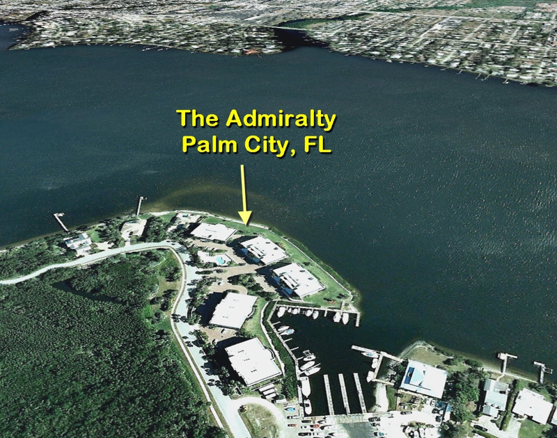 the Admiralty Condos in Palm City, Florida