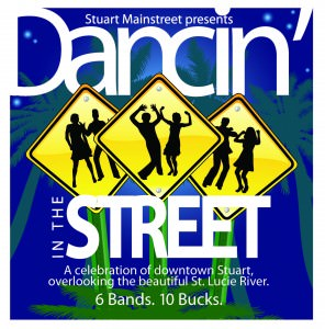 Dancing in the Street, Oct 10 in Downtown Stuart