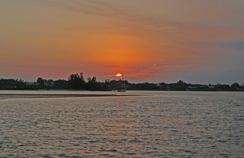 Sunset on the Saint Lucie River