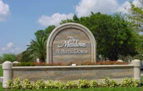 Entrance to the Meadows