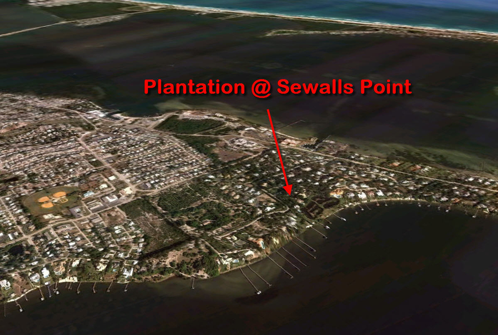 Aerial of the Plantation at Sewalls Point