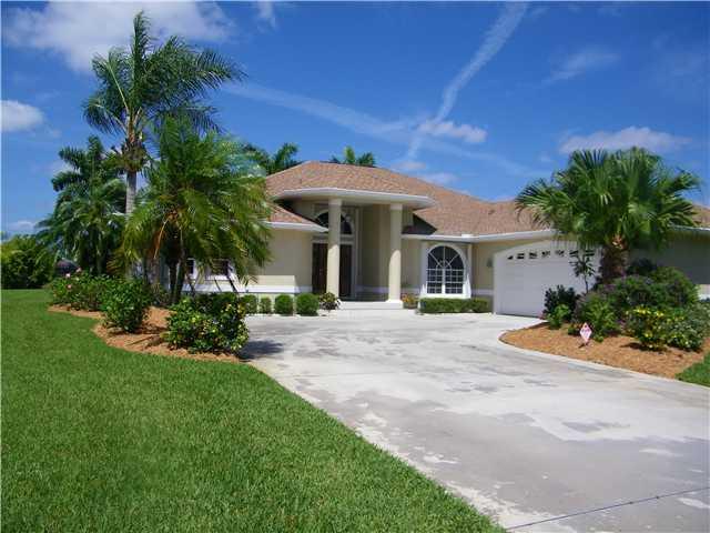 Home in South Fork Estates in Stuart FL