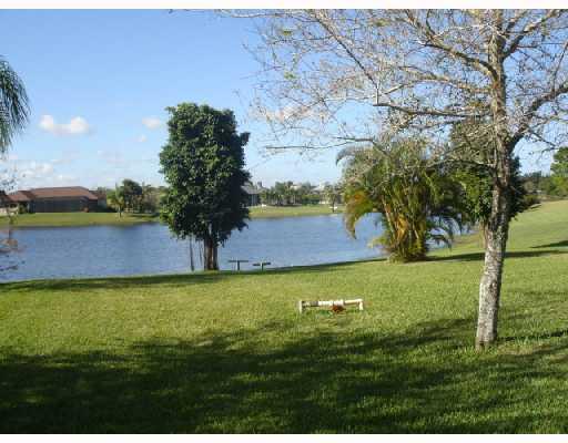Lake in South Fork Estates in Stuart FL