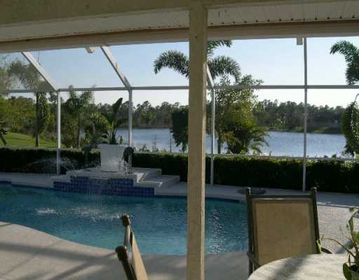Pool View from South Fork Estates in Stuart FL