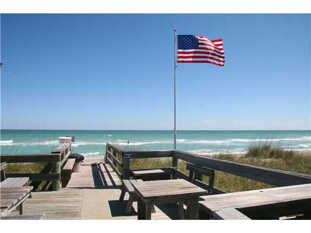 Beach of Ocean View Condo on Hutchinson Island