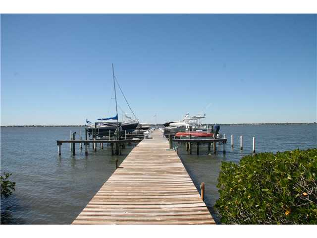 Docks of Ocean View Condo on Hutchinson Island