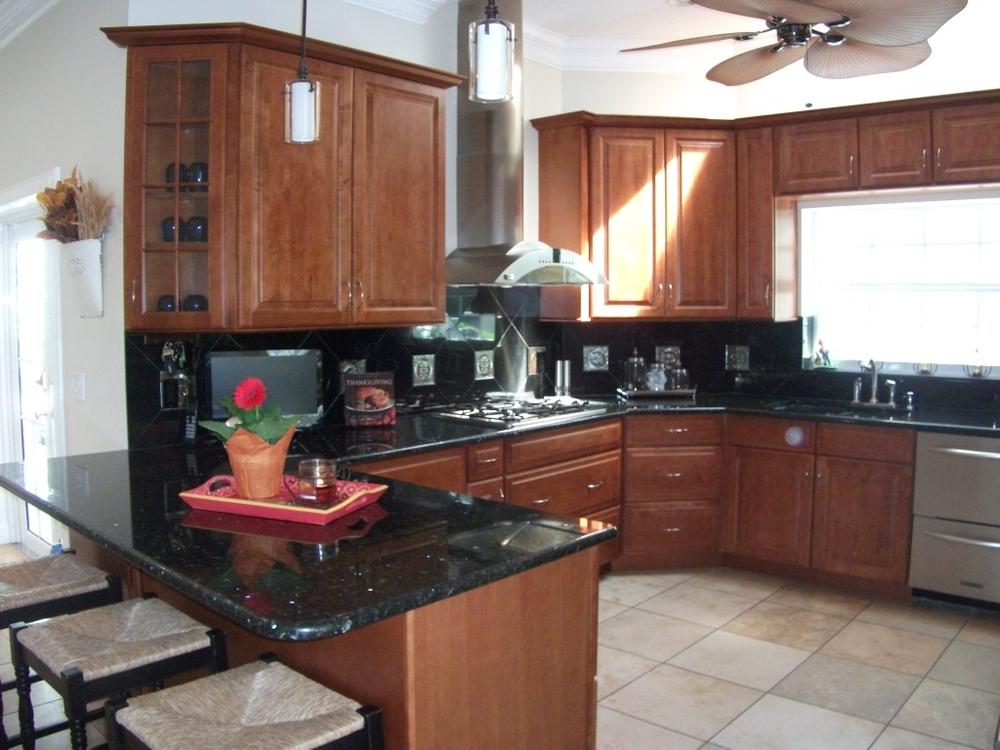 Kitchen of Snug Harbor West home for sale