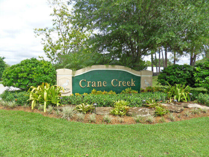 Crane Creek real estate in Palm City FL