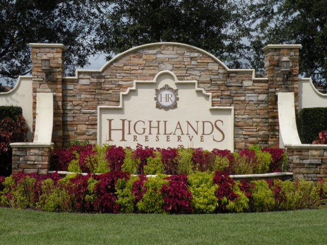 Highlands Reserve August 2015 Market Update