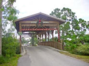 Covered Bridge, Rustic Hills, Palm City, Florida