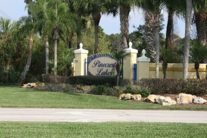 Pinecrest Lakes real estate in Jensen Beach