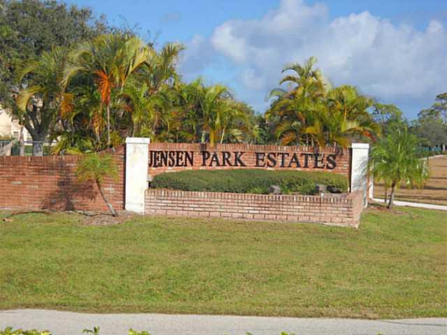 Jensen Park Estates real estate