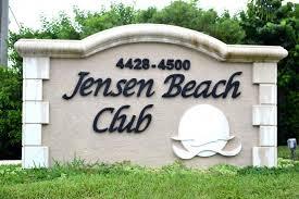 Jensen Beach Club on Hutchinson Island