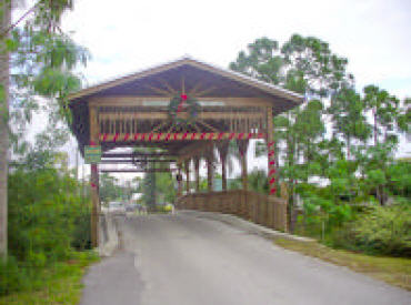 Rustic Hills covered bridge