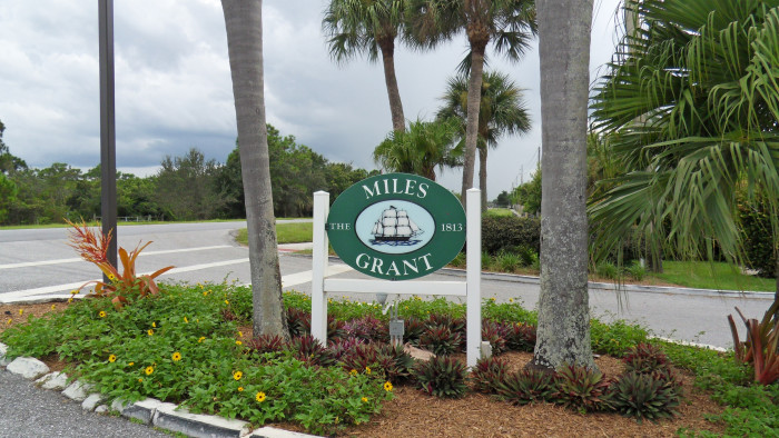 Entrance to Miles Grant