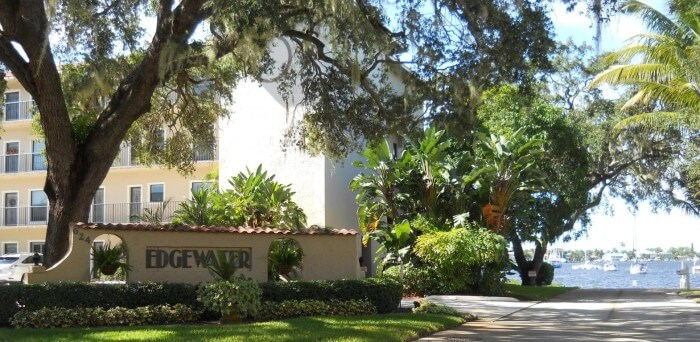 Edgewater Villas real estate in Stuart FL