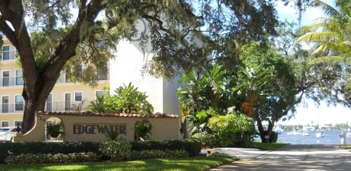 Edgewater Villas real estate in Stuart FL