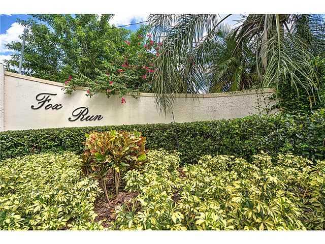 Fox Run real estate in Palm City FL