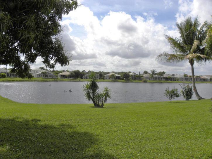 lake in Mariner Village