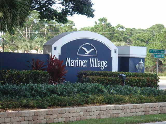 Mariner Village sign
