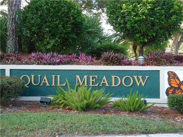 entrance to Quail Meadow in Martin Downs