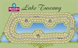 Lake Tuscany in Stuart Florida