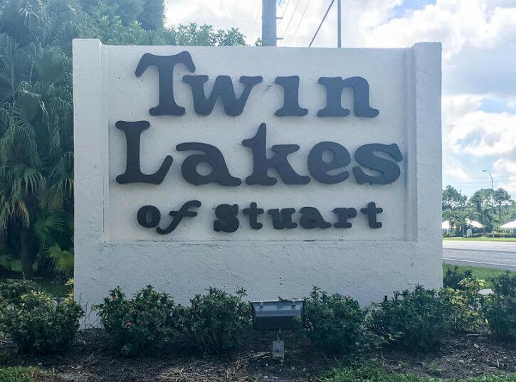 Twin Lakes Condos in Stuart FL