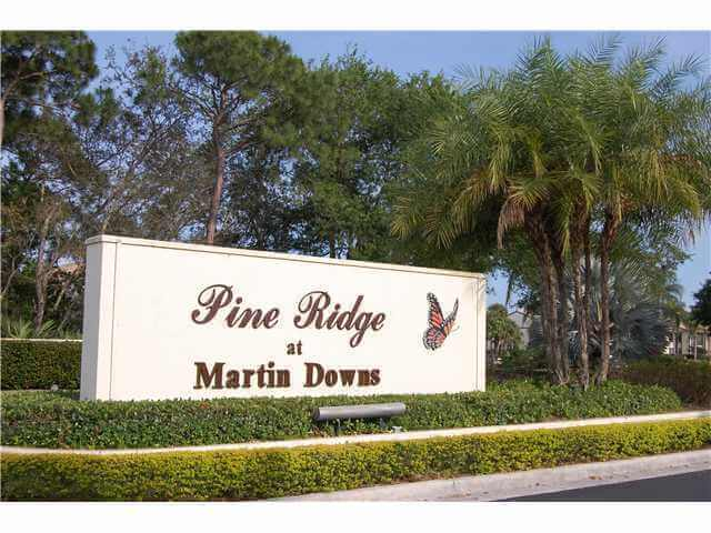 Pine Ridge Condos in Palm City