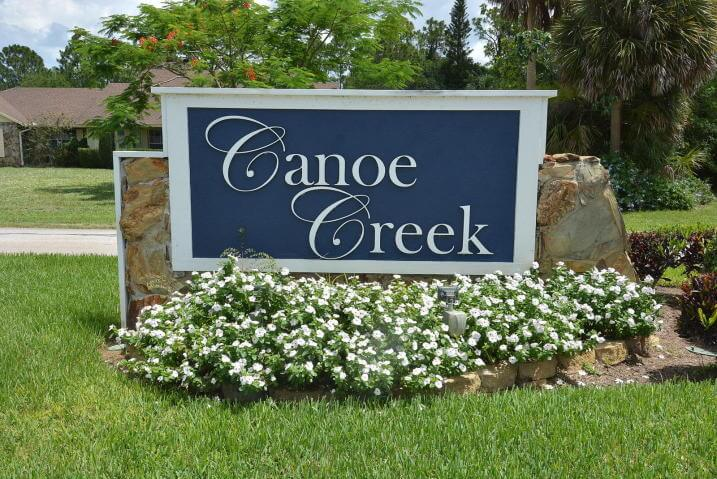 Canoe Creek in Palm City FL