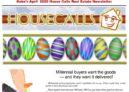 Gabe's April 2020 House Calls Real Estate Newsletter
