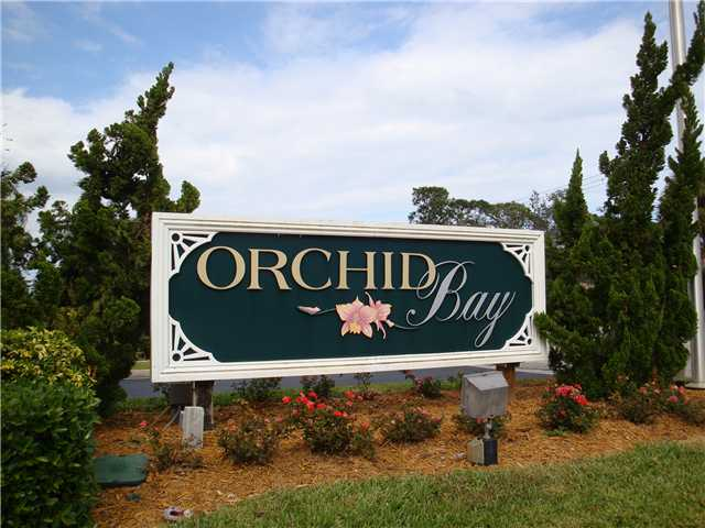 Entrance to Orchid Bay in Palm City FL