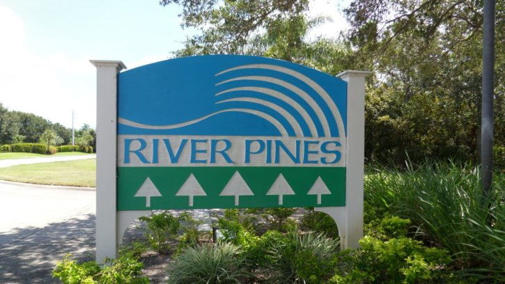 River Pines townhomes in Stuart FL
