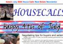 Gabe's July 2020 House Calls Real Estate Newsletter