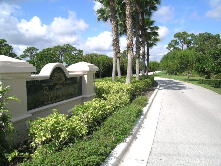 Springtree in Stuart FL