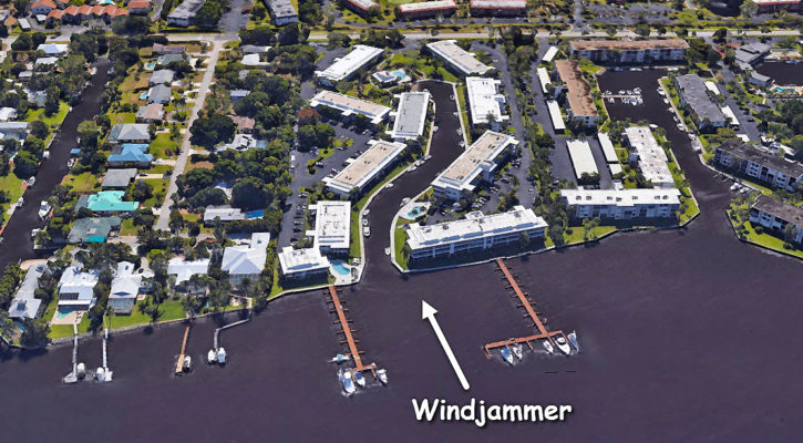 Windjammer condos in Stuart Florida