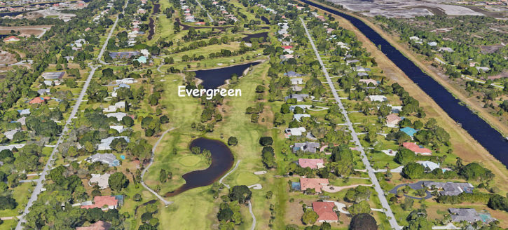 Evergreen in Palm City Florida