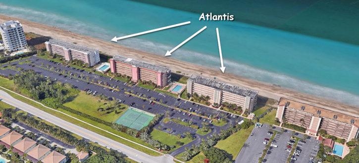 Atlantis Condos on Hutchinson Island in Jensen Beach Florida