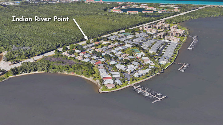 Indian River Point on Hutchinson Island in Jensen Beach Florida