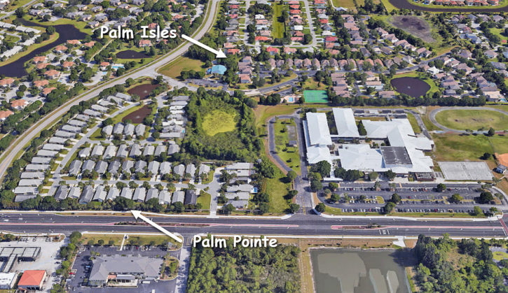 Palm Pointe and Palm Isles in Palm City Florida