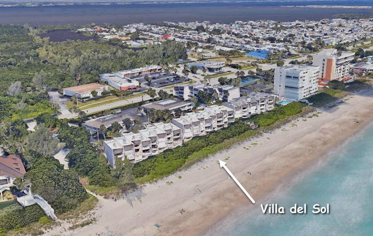 Villa del Sol condos on Hutchinson Island in Jensen Beach Florida