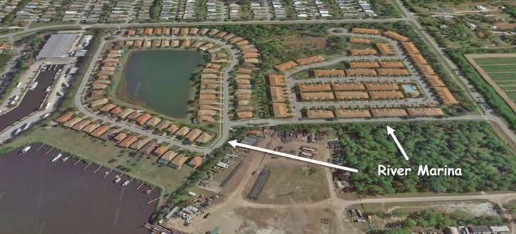 River Marina in Martin County Florida