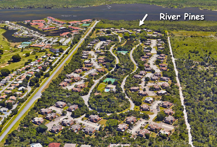 River Pines townhomes in Stuart Florida