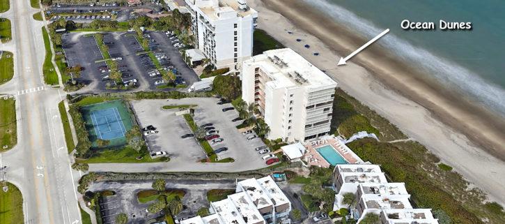 Ocean Dunes condos on Hutchinson Island in Jensen Beach Florida