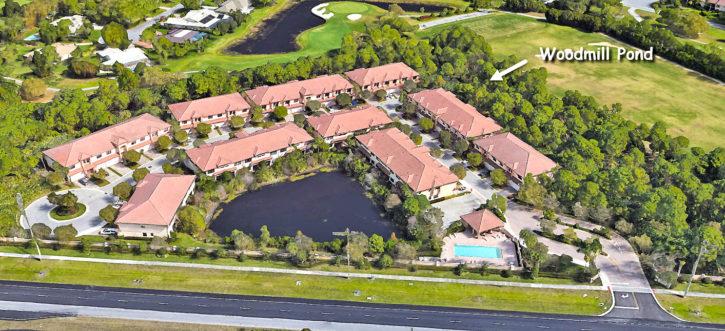 Woodmill Pond in Stuart Florida