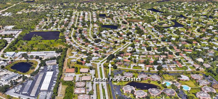 Jensen Park Estates in Jensen Beach Florida