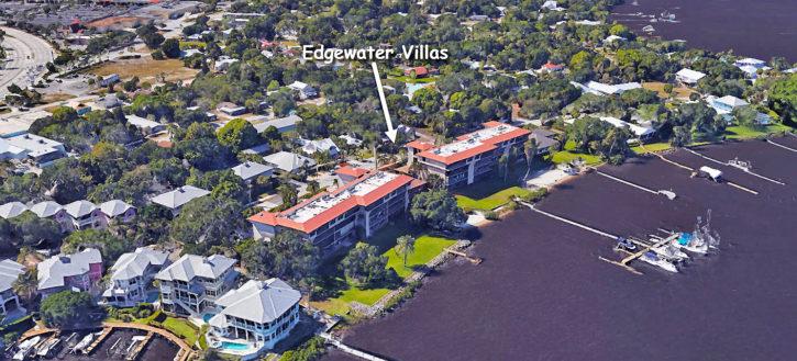 Edgewater Villas condos in Stuart Florida