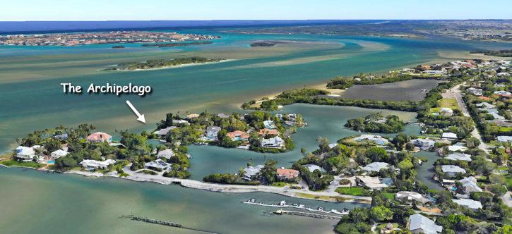 The Archipelago of Sewalls Point in Stuart Florida